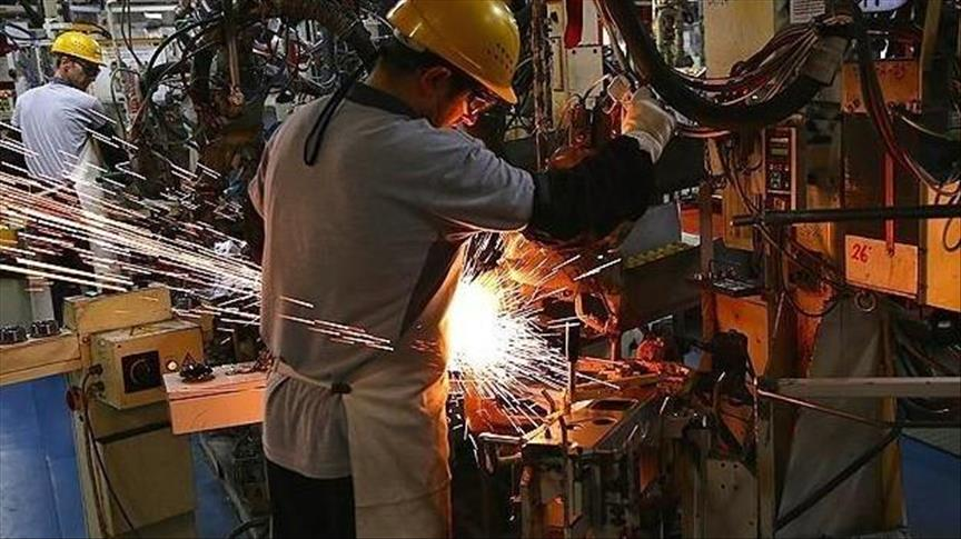 Sanayi üretimi Aralık'ta yüzde 1,9 arttı