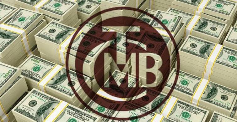 Merkez Bankası'nın brüt döviz rezervleri 3.3 milyar dolar azaldı