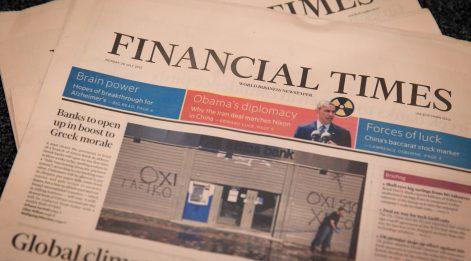 Financial Times Yine Türkiye'yi Yazdı: