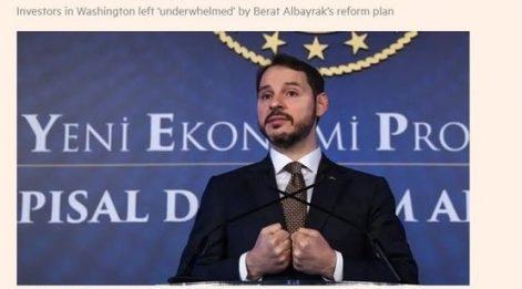 Albayrak'ı SABAH Savundu: Türkiye'ye Karşı Topyekün Saldırı! Reuters, Bloomberg, F.T.'tan kara propaganda