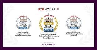 RTB House, Altın ve Gümüş  Stevie Ödüllerine Layık Görüldü