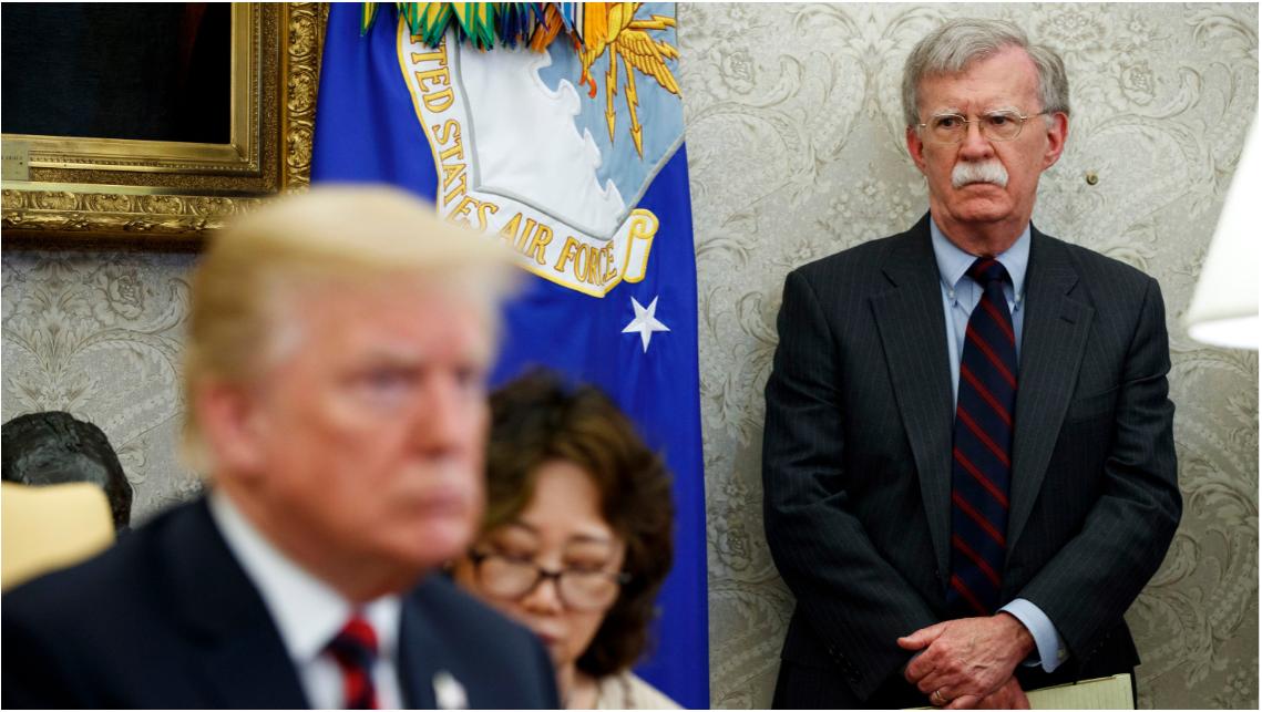 Trump, Ulusal Güvenlik Danışmanı Bolton'ı Görevden Aldı