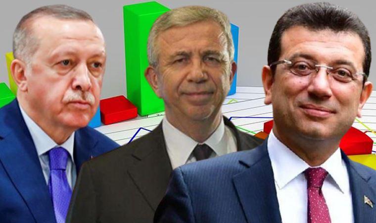 Son ankette Erdoğan'ı geçen isim kim?