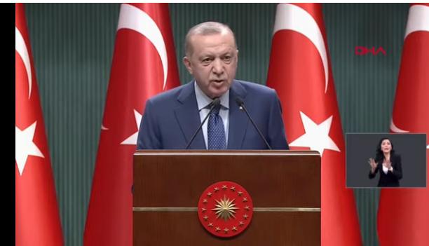Erdoğan: Tam kapatma yok, haftasonu yasakları geri, Ramazan'da paket servis sadece