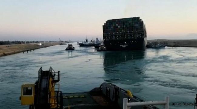 Süveyş Kanalı deniz trafiğine açıldı!