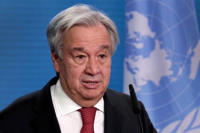 BM Genel Sekreteri Guterres:  Gelişen Ekonomileri borç krizi bekliyor