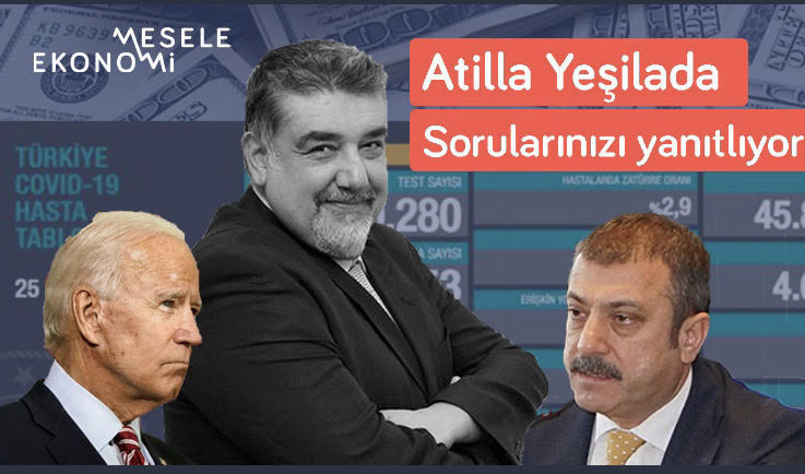 """Mesele Ekonomi: """"Borsa çökecek, bu böyle gitmez"""" & IMF gelmedi ama Türkiye fakirleşti   Atilla Yeşilada"""