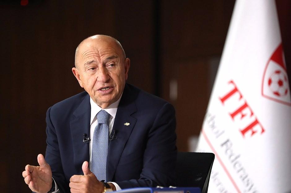 TFF Başkanı Özdemir: Pandemide kulüplerin gelirleri yüzde 30-40 geriledi!