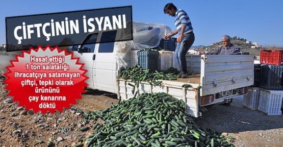 Dökülen sebze-meyve isyanına düzenleme geldi: Pazar Yerleri cumartesileri açılacak